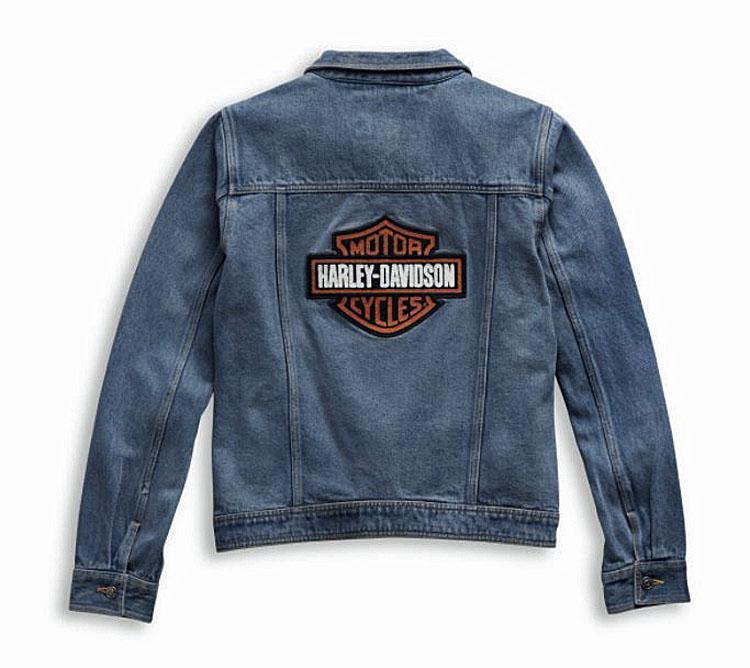 Harley-Davidson® Women's Bar & Shield® Logo Denim Jacket