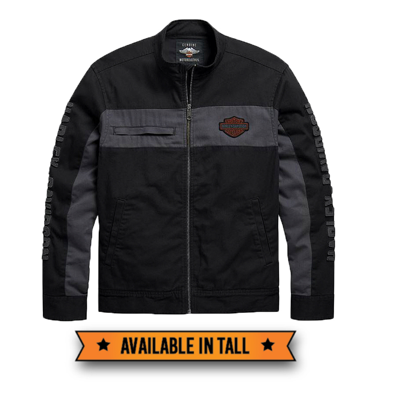 Harley-Davidson® Men's Copperback Canvas Casual Jacket