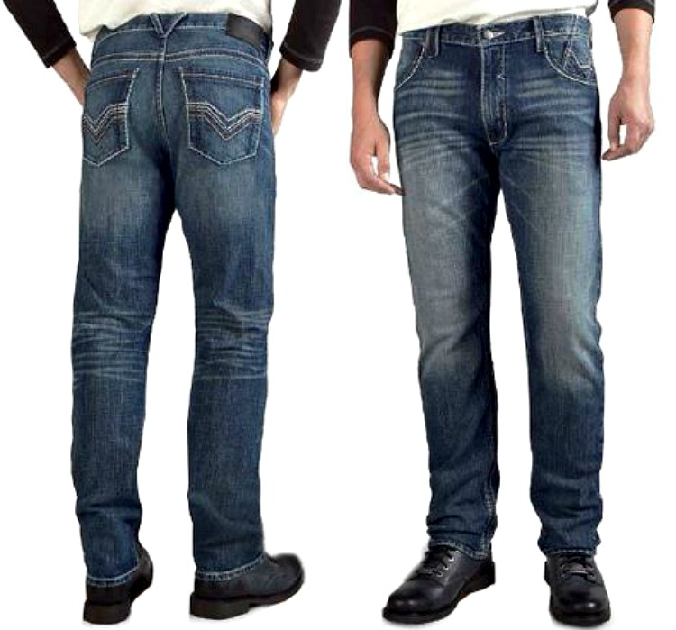 Harley-Davidson® Men's Straight Leg Fit Whipstitch Modern Jeans