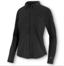 Harley-Davidson® Women's Poplin Shirt | Four-Way Stretch | Long Sleeves