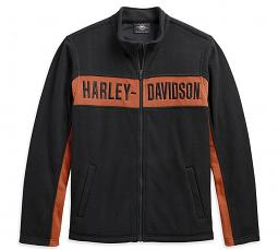 Harley-Davidson® Men's Chest Stripe Activewear Jacket