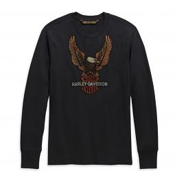 Harley-Davidson® Men's Vintage Eagle T-Shirt | Long Sleeves
