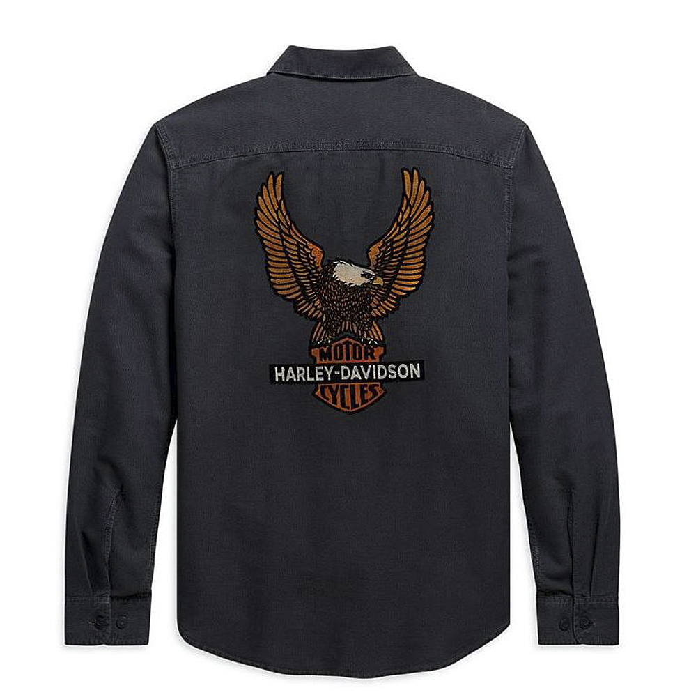 Harley-Davidson® Men's Vintage Eagle Shirt | Long Sleeves