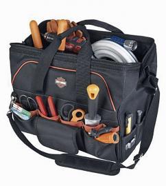 Harley-Davidson® 39-Pocket Tool Bag | Detachable Shoulder Strap
