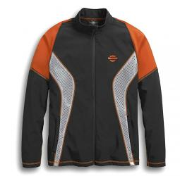 Harley-Davidson® Men's Performance Soft Shell Jacket | Perforated & Reflective Panels