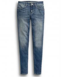 Harley-Davidson® Women's Skinny Mid-Rise Jeans | Medium Indigo Fade