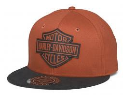 Harley-Davidson® Men's Bar & Shield® Baseball Cap | Orange