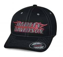 Harley-Davidson® Men's Flame Stretch Fit Cap | Flexfit®