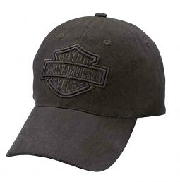 Harley-Davidson® Men's Phantom Logo Baseball Cap | Bar & Shield® Dimensional Graphics | One Size Fits Most