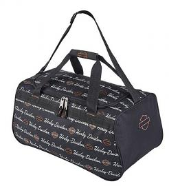 Harley-Davidson® Signature Travel Duffel | Adjustable Strap