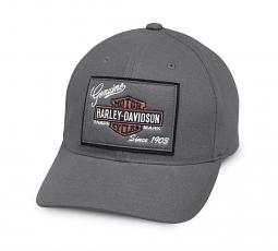 Harley-Davidson® Men's Genuine Logo Patch Baseball Cap | One Size Fits Most