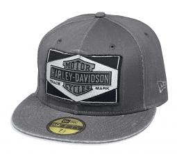 Harley-Davidson® Men's Raw Edge Patch 59FIFTY® Baseball Cap | New Era®