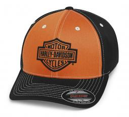 Harley-Davidson® Men's Colorblock Stretch Baseball Cap