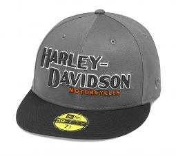 Harley-Davidson® Men's Iron Block 59FIFTY® Baseball Cap | New Era®