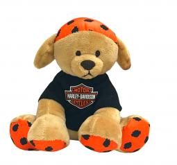 Harley-Davidson® Puppy Plush Toy | Buddy