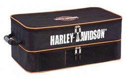Harley-Davidson® Bar & Shield® Trunk Locker | Two Level Organization