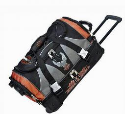 Harley-Davidson® Super Organized Duffel | Wheeled Carry-On | Over-Under Separation | 21 Inch