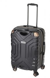 Harley-Davidson® High Performance Shark Wheel® Pullman Luggage | 25 Inch | Black