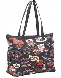 Harley-Davidson® Vintage Graphics Tote | Fully Lined