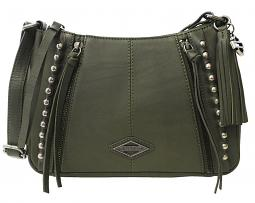 Harley-Davidson® Women's Ball & Chain Saddle Crossbody | Olive
