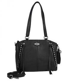 Harley-Davidson® Women's Ball & Chain Satchel | Adjustable/Detachable Strap