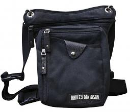 Harley-Davidson® C4 Collection Convertible Crossbody | Shoulder & Waist Wearing Options