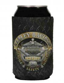 Harley-Davidson® Sheriff Flat Can Wrap | Neoprene | Koozie®