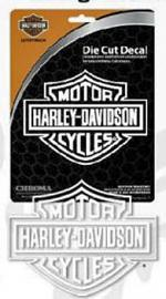 Harley-Davidson® Die Cut Decal | White Vinyl | Bar & Shield® | Medium