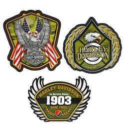 Harley-Davidson® Salute To The Military Decal Kit | Set of 3
