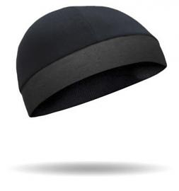 That's A Wrap!® CoolMax® Cool Cap™ | Black with HeadGrippers™
