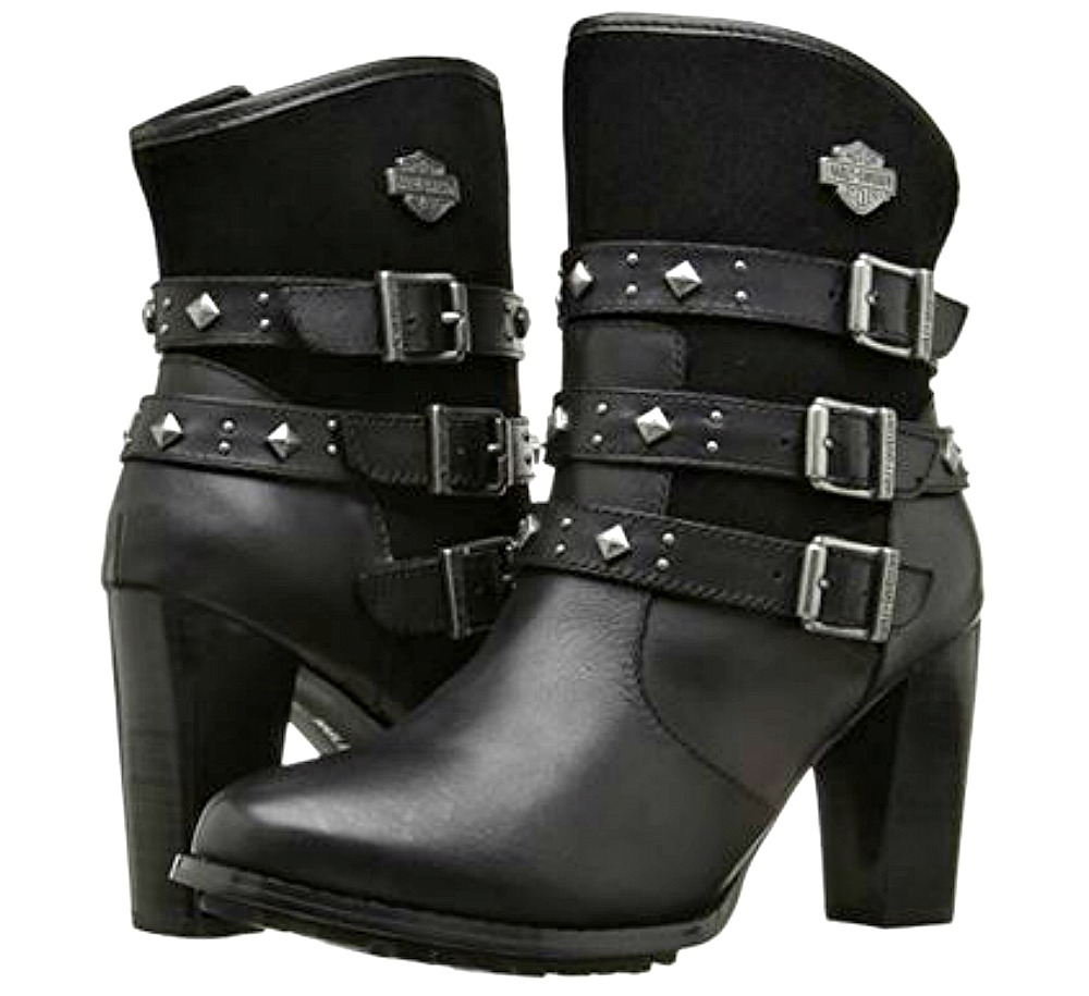 Harley-Davidson® Women's Abbey Lifestyle Fashion Boots | Stacked Heel
