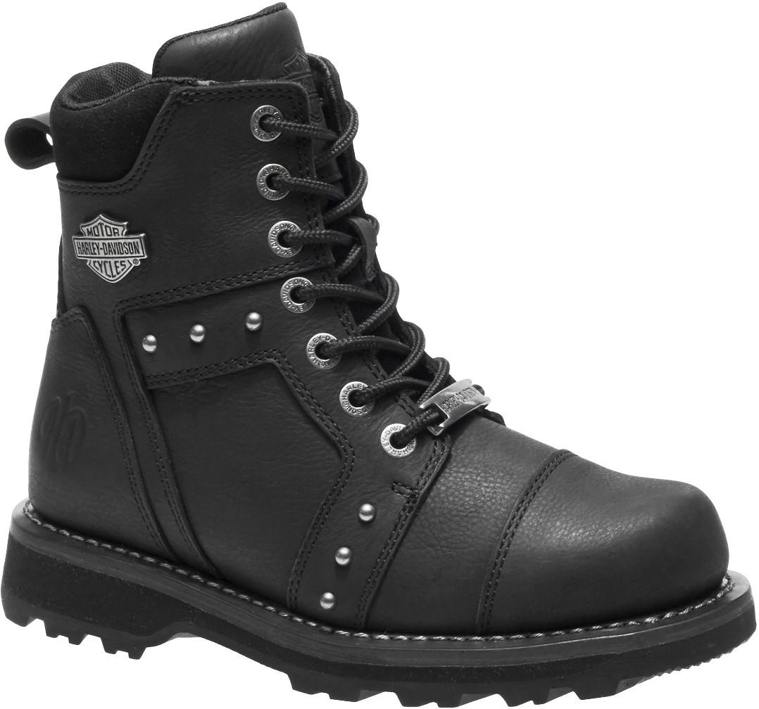 HARLEY-DAVIDSON® FOOTWEAR Women's Oakleigh Motorcycle Riding Boots   Black
