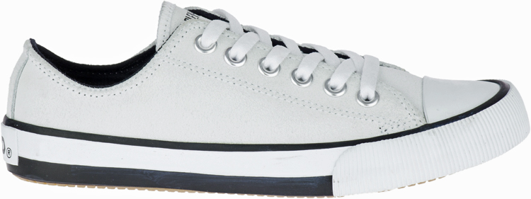 HARLEY-DAVIDSON® FOOTWEAR Women's Burleigh Leather Sneakers | Lifestyle Casual | White