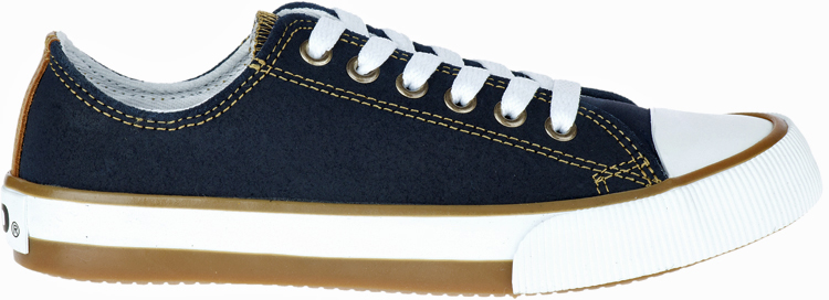 HARLEY-DAVIDSON® FOOTWEAR Women's Burleigh Leather Sneakers | Lifestyle Casual | Blue