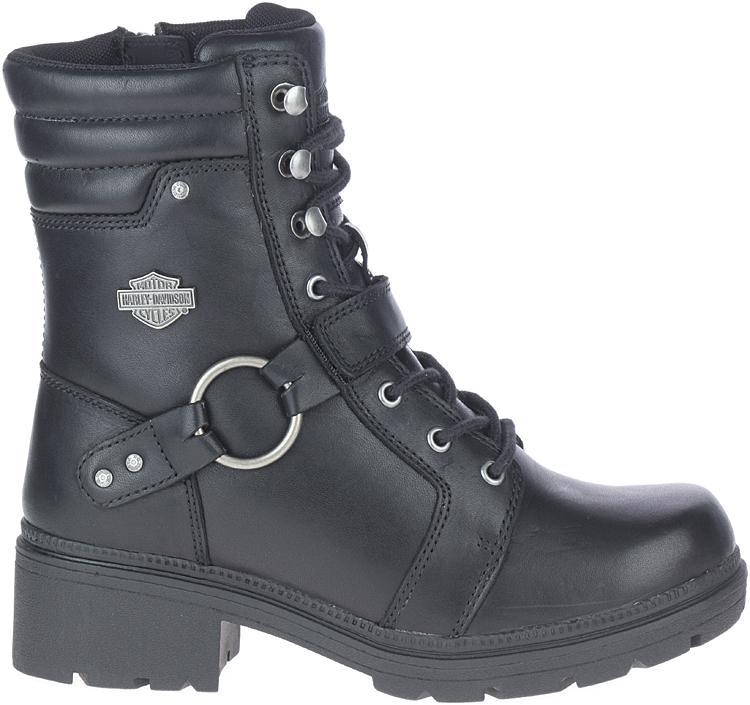 "HARLEY-DAVIDSON® FOOTWEAR Women's Tegan 6"" Harness Lifestyle Boots"