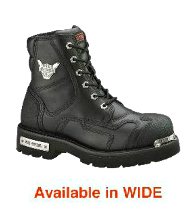 HARLEY-DAVIDSON® FOOTWEAR Men's Stealth Motorcycle Riding Boots | TecTuff® Overlays