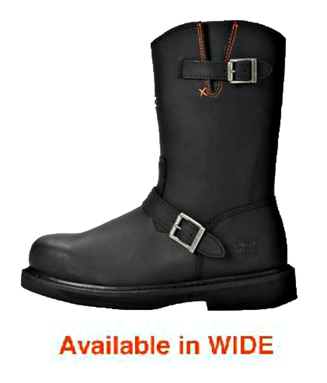 HARLEY-DAVIDSON® FOOTWEAR Men's Jason Leather Steel Toe | Safety Work Boots