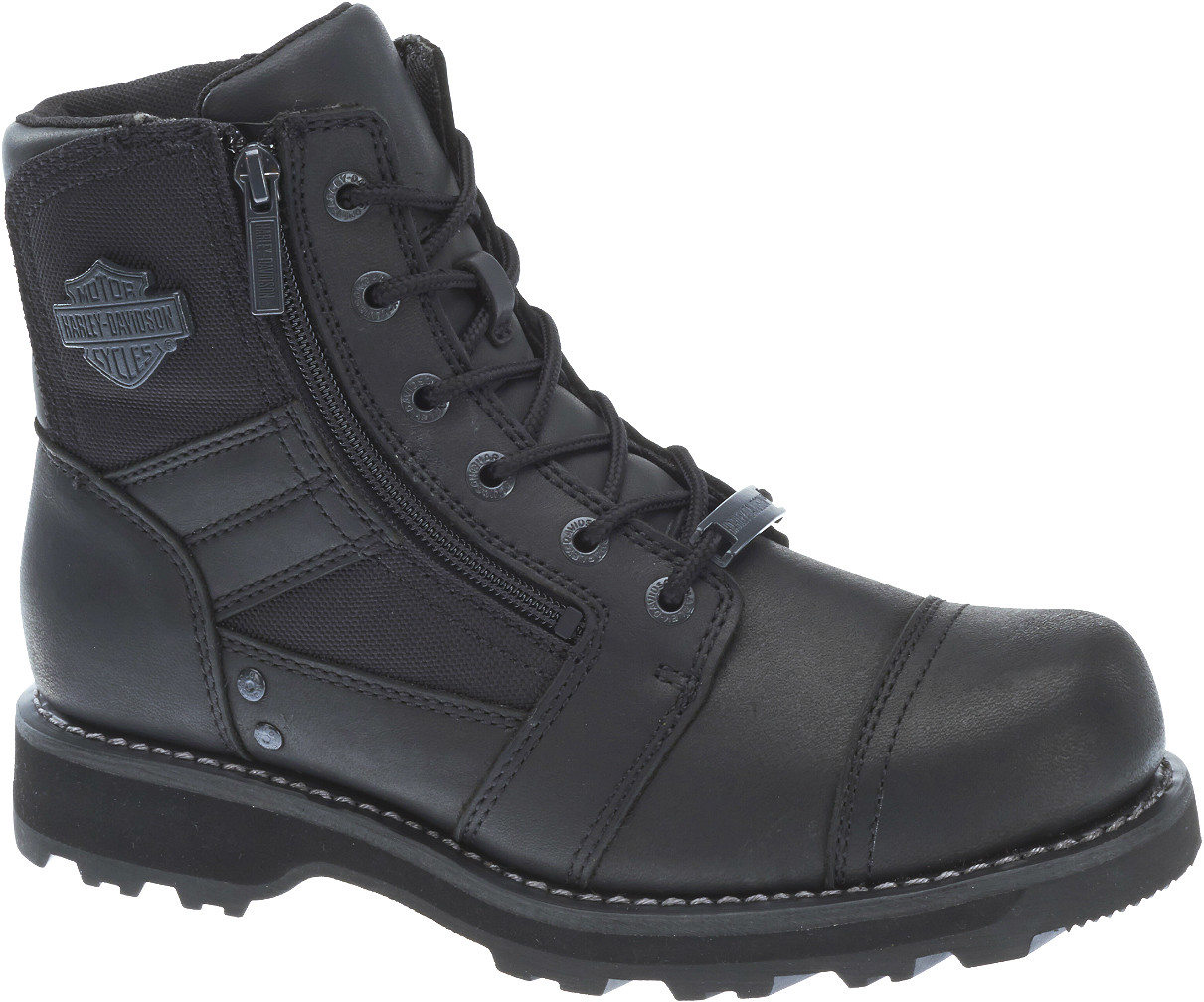HARLEY-DAVIDSON® FOOTWEAR Men's Bonham Motorcycle Riding Boots | Quality Ventilation