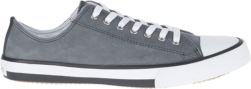 HARLEY-DAVIDSON® FOOTWEAR Men's Claymore Leather Sneakers | Lifestyle Casual | Grey