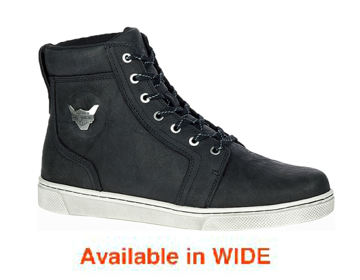 "HARLEY-DAVIDSON FOOTWEAR® Men's Bateman 5"" Metal Motorcycle Riding Sneakers 