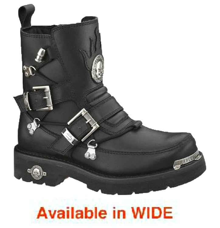 HARLEY-DAVIDSON® FOOTWEAR Men's Distortion Motorcycle Riding Boots