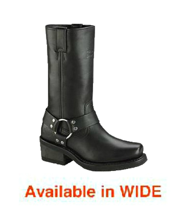 HARLEY-DAVIDSON® FOOTWEAR Men's Hustin Waterproof Motorcycle Riding Boots