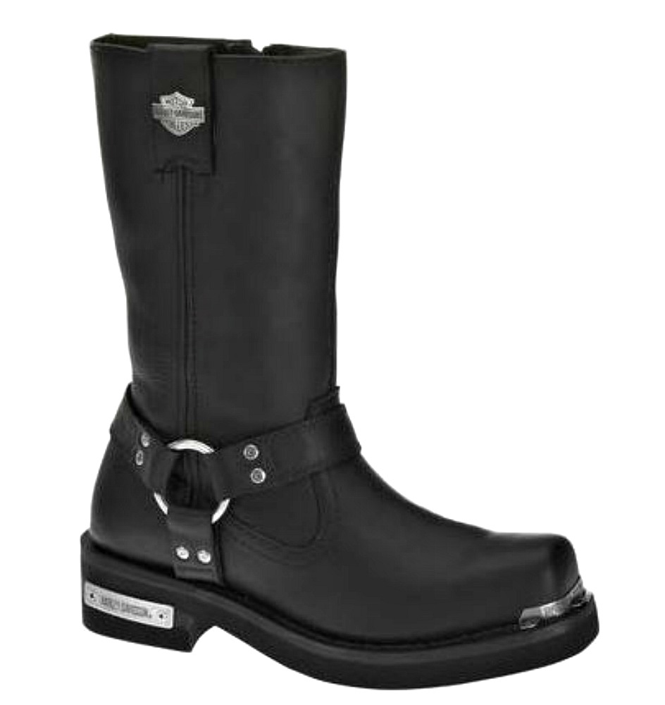 HARLEY-DAVIDSON® FOOTWEAR Men's Landon Black Motorcycle Riding Boots