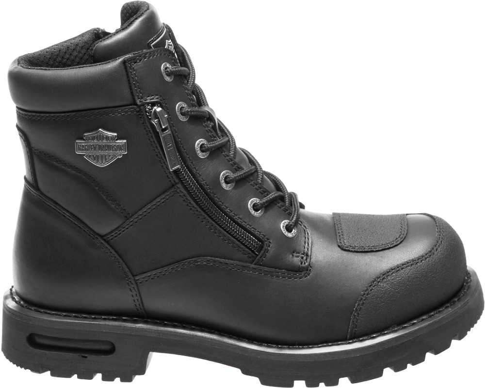 HARLEY-DAVIDSON® FOOTWEAR Men's Renshaw Motorcycle Riding Boots with TecTuff® Overlays