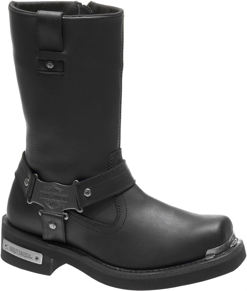 HARLEY-DAVIDSON® FOOTWEAR Men's Charlesfort Motorcycle Riding Boots | Black