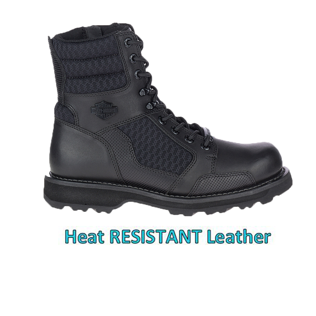 HARLEY-DAVIDSON® FOOTWEAR Men's Lensfield Motorcycle Riding Boots | TFL Cool Systems Technology