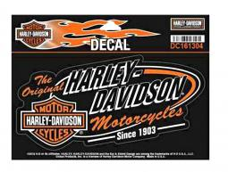 Harley-Davidson® Retro Decal | Large