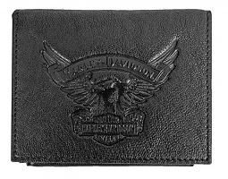 Harley-Davidson® Men's Eagle Bi-Fold Plus One Wallet | Removable ID