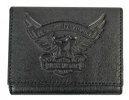 Harley-Davidson® Men's Eagle Tri-Fold Wallet | ID Window