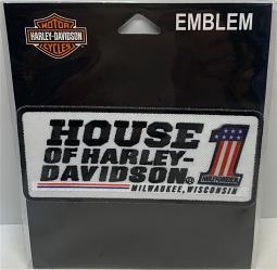 Harley-Davidson® Customized House of Harley® Emblem | #1 Logo